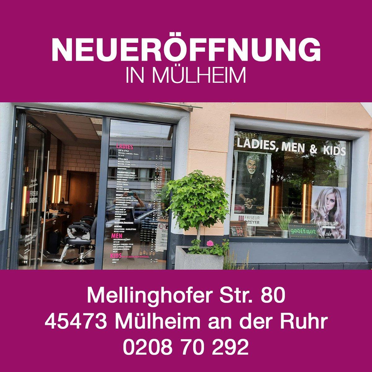 neueroeffnung Friseur Dreyer Muelheim